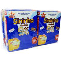 Fralda Sininho Confort Hiper Pacotão Exg - 256 Unidades