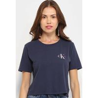 Blusa Calvin Klein Básica Feminina - Feminino