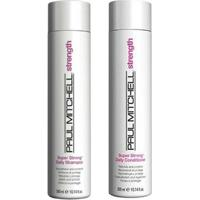 Kit Shampoo + Condicionador Paul Mitchell Super Strong Daily Kit - Unissex-Incolor