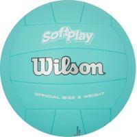 Bola De Vôlei Wilson Soft Play - Azul