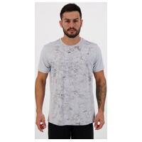 Camiseta Fila New Graphic Active Cinza Claro