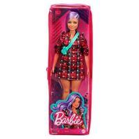 Barbie Fashionista - Vestido Vm Quadriculado Fbr37