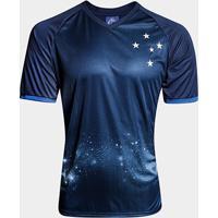 Camisa Cruzeiro Constelação S/N° - Edição Limitada Masculina - Masculino-Azul+Marinho