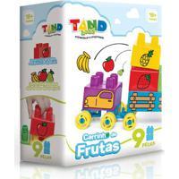 Blocos De Montar - Tand Baby - Carrinho De Frutas - Toyster