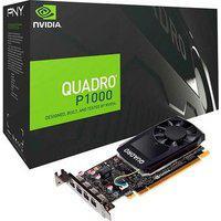 Placa De Vídeo Pny Nvidia Quadro P1000, 4Gb, Gddr5 - Vcqp1000V2-Pb