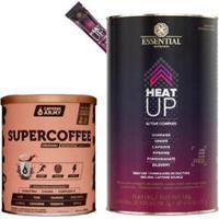 Heat Up 20 Unidades 7G Essential + Supercoffee 2.0 220G - Unissex