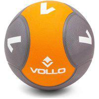 Bola Medicine Ball Borracha 1Kg Peso Cross Funcional - Vollo