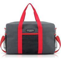 Bolsa De Viagem E Academia Jacki Design Poliéster - Unissex-Vermelho