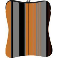 Capa Para Notebook Fit- Laranja & Preta- 37X29Cmnewex