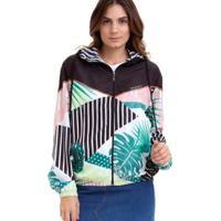 Jaqueta Corta Vento Roxy Pop Surf Feminina - Feminino