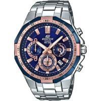 8d8b1570048 ... Relógio Casio Edifice Masculino - Masculino-Prata