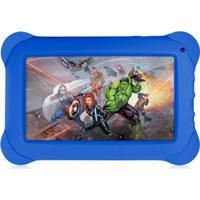 Tablet Multilaser Disney Vingadores Nb240 Azul Tela 7''8Gb Wi-Fi Android 4.4