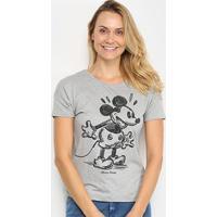 Blusa Cativa Disney Mickey Feminina - Feminino-Mescla