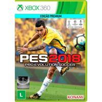 Jogo Pro Evolution Soccer 2018 (Pes 2018) Para Xbox 360 (X360) - Konami