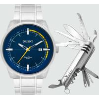 Kit Relógio Masculino Orient Mbss1295 Kb99D1Sx