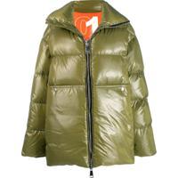 Khrisjoy Oversized Padded Coat - Verde