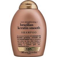 Shampoo Ogx Brazilian Keratin Smooth 385Ml - Feminino-Incolor