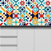 Adesivo Azulejos Modernos 11
