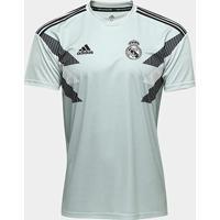 Camisa Real Madrid Pré-Jogo - Torcedor Adidas Masculina - Masculino
