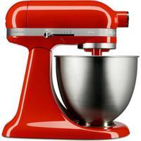 Batedeira Stand Mixer Kitchenaid Artisan Mini Hot Sauce - Kea25Ah 110V