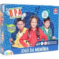 Jogo Da Memória - Dpa - Detetives Do Prédio Azul - 54 Cartas - Estrela