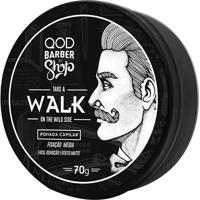 Pomada Capilar Qod Barber Shop Walk Fixação Média 70G