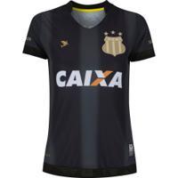 Camisa Do Sampaio Corrêa Iii 2018 Nº 10 Tubarão - Feminina - Preto