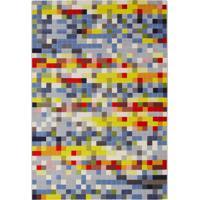 Tapete Pixel D Retangular Polipropileno (200X250) Colorido