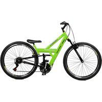 Bicicleta Master Bike Aro 26 Masculina Kanguru Style Rebaixada A -36 Verde