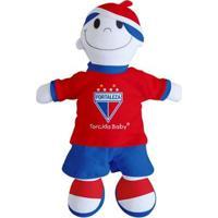 Boneco Mascote Do Fortaleza - Torcida Baby - Unissex