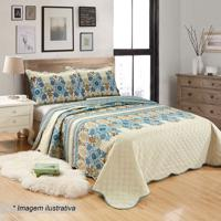 Conjunto De Colcha Patchwork Ultrasonic King Size- Off Wsultan