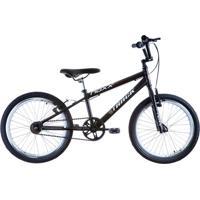 Bicicleta Aro 20 Noxx Aero Cross Bmx Preto-Fosco Track & Bikes