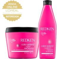 Redken Proteção Da Cor Kit - Shampoo + Máscara Kit - Unissex-Incolor