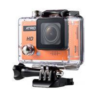 Câmera Atrio Fullsport Hd - E/S Micro Usb/Hdmi - Case À Prova Dágua 30M - Preto/Laranja