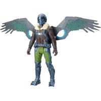 Figura De Ação Eletrônica - 15 Cm - Spider-Man Homecoming - Marvel'S Vulture - Marvel - Hasbro - Masculino-Incolor