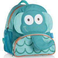 Mochila Escolar Infantil Multikids Little Buddys Elefante Fant - Masculino-Azul