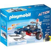 Playmobil Expedição Ártica Piratas Do Gelo Moto Sunny - Unissex-Incolor