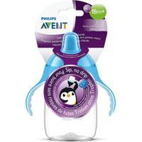 Copo Pinguim Com Bico Philips Avent Azul 1 Unidade