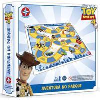 Jogo De Tabuleiro - Disney - Pixar - Toy Story 4 - Aventura No Parque - Estrela