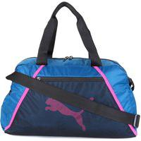 Bolsa Puma Ess Grip Bag Azul E Rosa