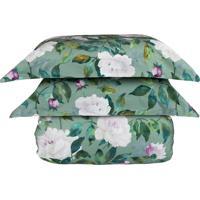 Kit Colcha Secret Garden Queen - Naturalle Fashion