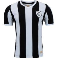 Camisa Do Figueirense 1930 Retrômania - Masculina - Preto/Branco