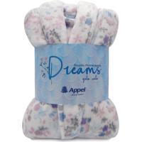 Roupão Adulto Microfibra Dreams - Floral Sereia - Appel