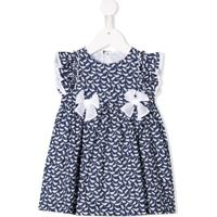 Il Gufo Vestido Estampado - Azul
