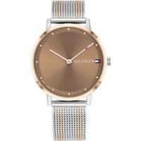 Relógio Tommy Hilfiger Feminino Aço Prateado E Dourado - 1782152