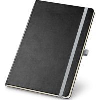 Caderneta De Anotações Topget 13,7X21Cm 80 Folhas Pautadas Preto E Cinza