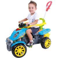 Mini Veículo De Passeio - Quadriciclo Colorido - Maral