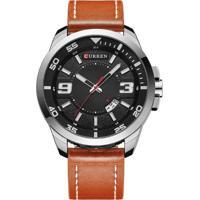 Relógio Curren Analógico 8213 Prata