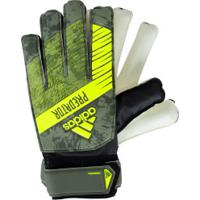 Luvas De Goleiro Adidas Predator Training - Adulto - Verde Escuro