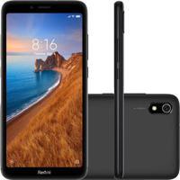 Smartphone Xiaomi Redmi 7A 32Gb 2Gb Ram Versão Global Desbloqueado Preto